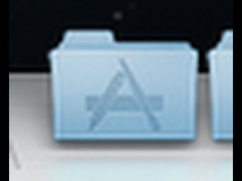 Get the Applications back into your Dock!