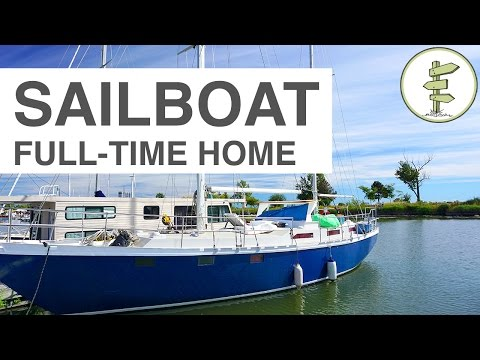Couple Moves From House to Sailboat - Year-Round Liveaboard in Canada