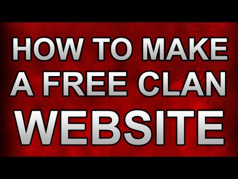 How to make a FREE Enjin Clan Website