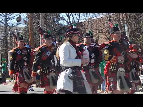 Allentown St. Patrck's Day Parade (Kiltie Band Of York) - March 18, 2018