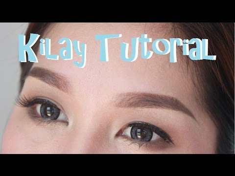 Kilay Tutorial  in 2 Minutes  | KrisLumagui
