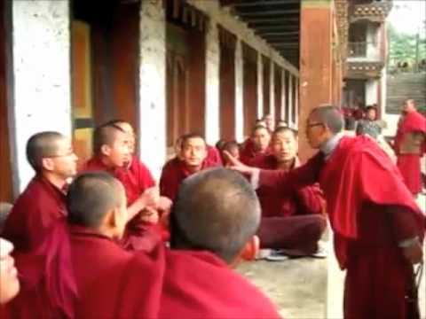 Tibetan Monks Debate!