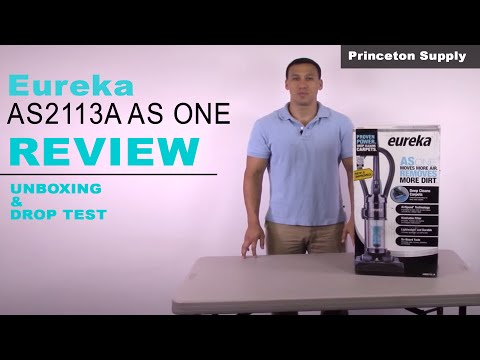 Eureka AS2113A AS ONE Bagless Upright Vacuum in Pacific Blue Review