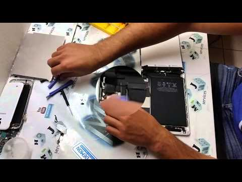 How to replace broken LCD screen and the digitizer glass on Apple ipad mini