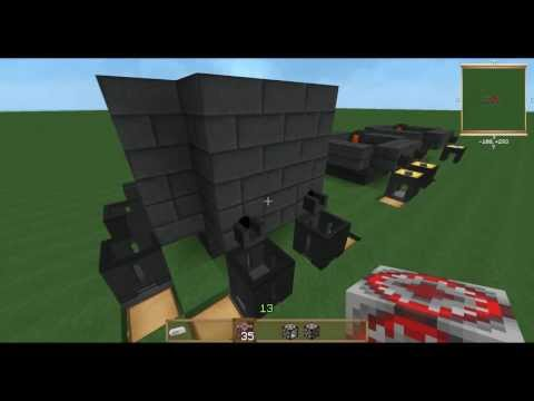 Smelter Automation using Rednet. FTB Unleashed