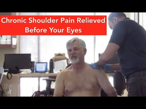 Chronic Shoulder Pain Relieved in Minutes!