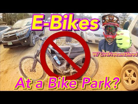 E-Bikes at a Bike Park? | 2018 Highland Bike Park Opening Day | Specialized Demo Day