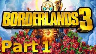 Borderlands 3 Zane Playthrough Part 1