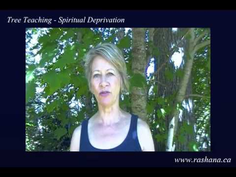 Tree Teaching - Spiritual Deprivation
