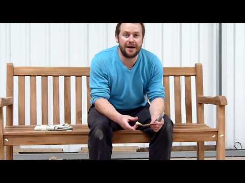 How to Assemble a Garden Bench - Sloane & Sons
