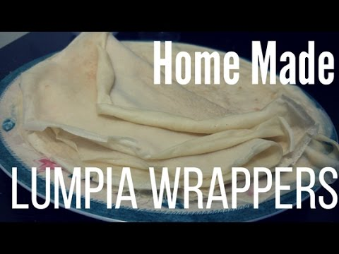 Making Lumpia Wrappers At Home | Home Made Series Ep 1
