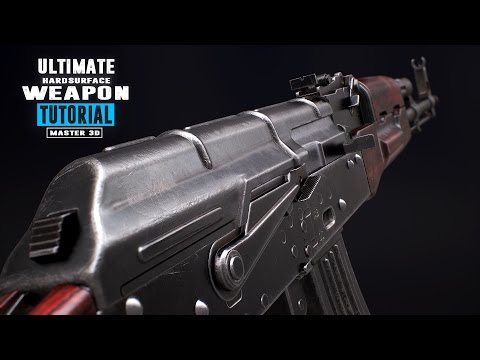 Ultimate Weapon Tutorial - 3DS Max 2016/Substance Painter/Marmoset - Trailer