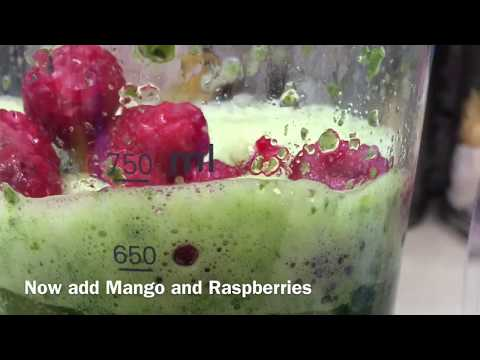 Mangberry Green Smoothie Day 4