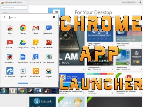 Chrome App Launcher! Awesome Release by Google