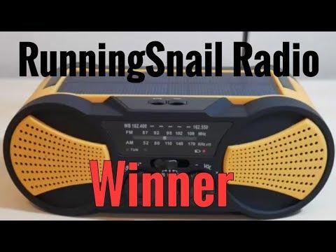 RunningSnail Emergency Radio Giveaway Winner Announcement