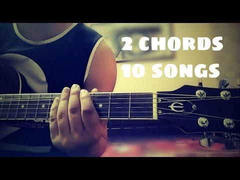 Play 10 Bollywood songs using 2 chords