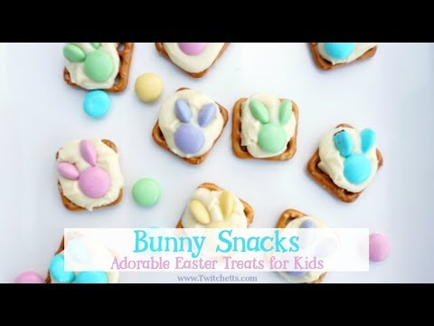Bunny Snacks ~ Adorable Easter Treats for Kids