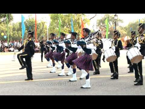 Sri Lanka Air Force Band performs at Platinum Jubilee of Indian Air Force