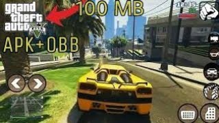 gta 5 android apk + data download highly compressed