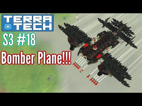 Terratech | Ep18 S3 | 'Compact' Bomber Plane!! | Terratech v0.7.8.5 Gameplay