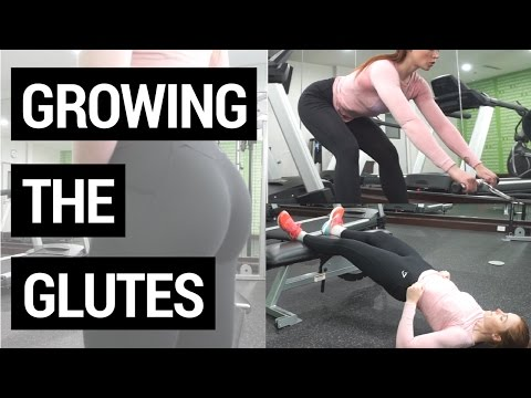 GROWING THE GLUTES | 7 New Glute Exercises