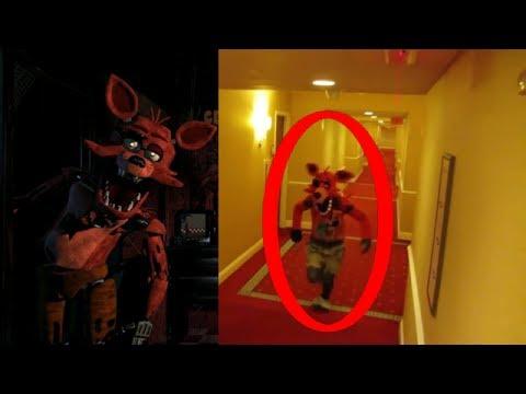 Five Nights At Freddy's In Real Life (Fnaf) #FNAF