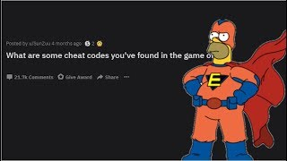People Share Cheat Codes They