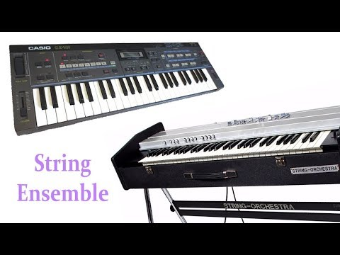 How to bring you the famous 70s analog stringensemble sound in a Casio CZ synthesizer