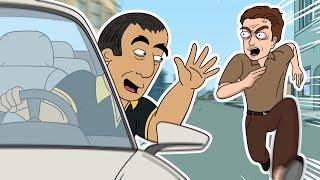 Insane Arab Car Thief Calls Back Victim (UK)