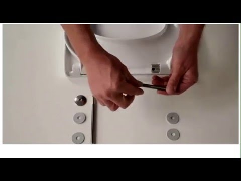 How To Fit A Pressalit D57 Toilet Seat Hinge