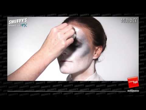 Mummy Face Painting Make-up Tutorial