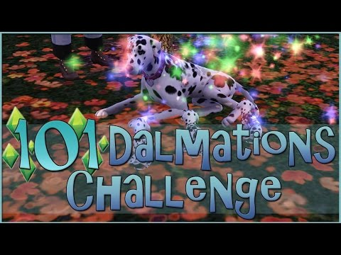 Birth of Autumn Puppies!! || Sims 3: 101 Dalmatians Challenge  - Episode #33