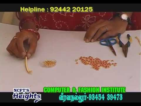 jewelry making at home in tamil | Necklace Making at Home