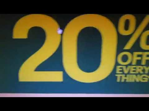 Ebay 20% off ANYTHING over 25 dolla! ends 8pm PT tonight!