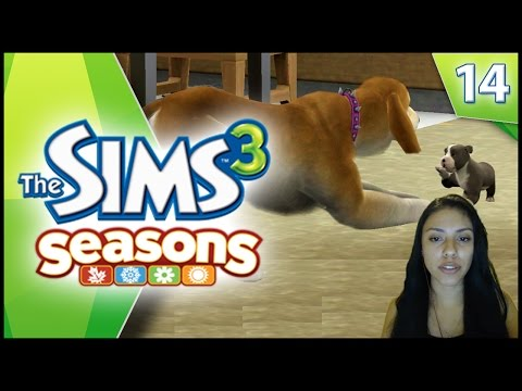 THE SIMS 3 - OUR NEW PUPPY! - EP 14 (FACECAM)