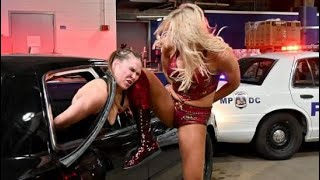 Ronda Rousey versus Charlotte Flair Full Match Video Breakdown by Paulie G
