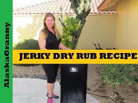 Jerky Dry Rub Recipe