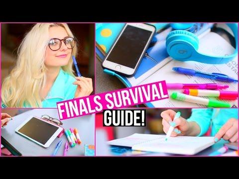 Finals Survival Guide! Get an