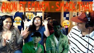 Akon ft. Eminem - Smack That (Official Video) Producer & Family Reaction