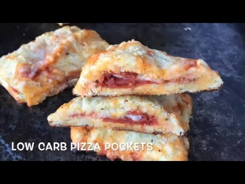 Low Carb Pizza Pockets