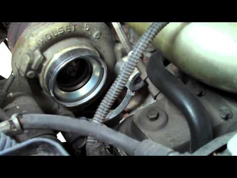 How to Remove Turbo Silencer Ring 5.9 Cummins