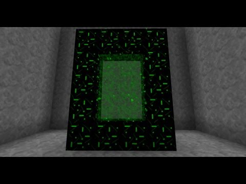 How To Make a NETHER Portal on Minecraft Easy-Fast-Pro
