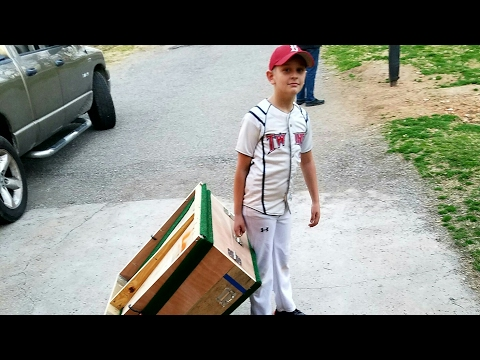 Home made portable youth baseball pitching mound