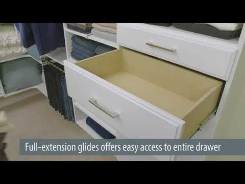 Tip: Add Drawers to Your Bedroom Closet to Create a Dresser
