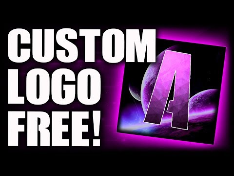How To Make A FREE YouTube Logo! (NO PHOTOSHOP) How To Make A YouTube Logo WITHOUT Photoshop (Pixlr)