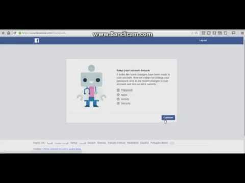 Change Your Face Book Password without Know Old Password