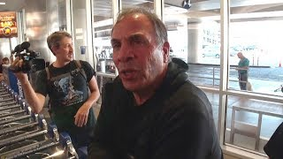 USA Soccer Coach Bruce Arena Asked If He