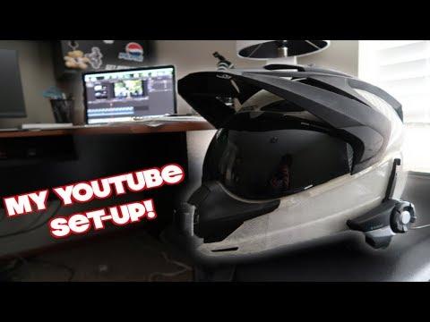 My YouTube Set-up! - How I Motovlog.