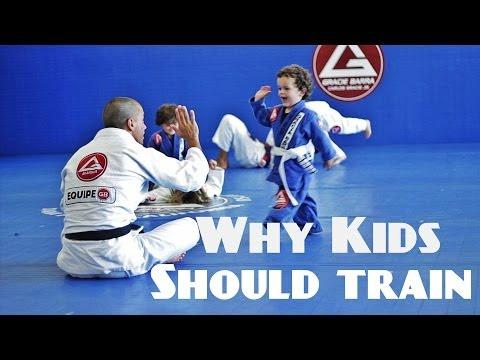 Why Kids Should Train Jiu-Jitsu