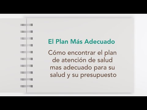El Plan Más Adecuado (Español)